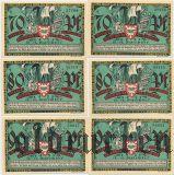 Киль (Kiel), 6 нотгельдов 1921 года
