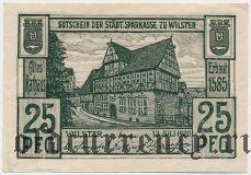 Вильстер (Wilster), 25 пфеннингов 1920 года