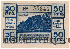 Вильстер (Wilster), 50 пфеннингов 1920 года