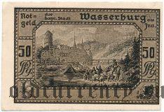 Вассербург-на-Инне (Wasserburg am Inn), 50 пфеннингов 1920 года