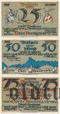 Обераммергау (Oberammergau), 3 нотгельда 1921 года. Вар. 2