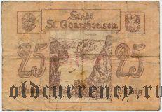 Санкт-Гоарсхаузен (St. Goarshausen), 25 пфеннингов