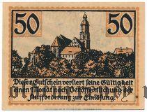 Каменц (Kamenz), 50 пфеннингов 1921 года