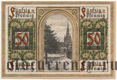 Оберлинд (Oberlind), 50 пфеннингов 1919 года