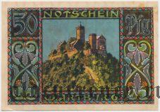 Айзенах (Eisenach), 50 пфеннингов. Вар. 2