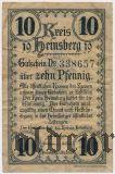 Хайнсберг (Heinsberg), 10 пфеннингов 1919 года