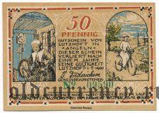 Луцхёфт (Lutzhöft), 50 пфеннингов 1920 года