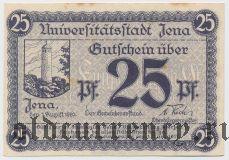 Йена (Jena), 25 пфеннингов 1920 года