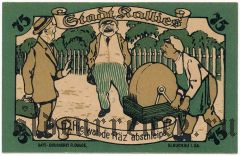 Калиш (Kallies), 75 пфеннингов 1921 года
