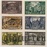 Тале (Thale), 6 нотгельдов 1921 года