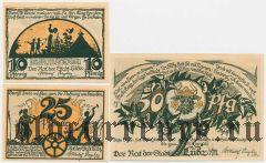 Любц (Lübz), 3 нотгельда 1922 года