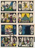Дёбельн (Döbeln), 8 нотгельдов 1921 года