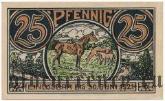 Винзен (Winsen), 25 пфеннингов 1921 года
