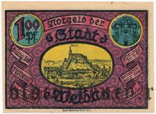 Вайда (Weida), 1 марка 1921 года