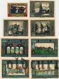 Лобеда (Lobeda), 8 нотгельдов 1921 года
