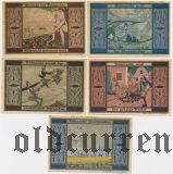 Грайффенберг (Greiffenberg), 5 нотгельдов