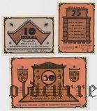 Тетеров (Teterow), 3 нотгельда 1921 года