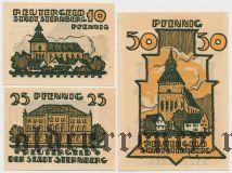 Штернберг (Sternberg), 3 нотгельда 1922 года