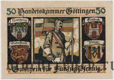 Гёттинген (Göttingen), 50 пфеннингов 1917 года