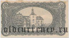 Финстервальде (Finsterwalde), 10 пфеннингов 1919 года
