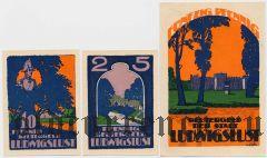 Людвигслюст (Ludwigslust), 3 нотгельда 1922 года