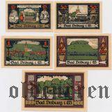 Бад-Дрибург (Bad Driburg), 5 нотгельдов 1921 года