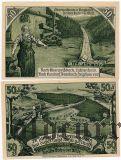 Обервайсбах (Oberweißbach), 2 нотгельда 1921 года