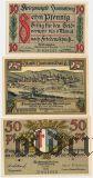 Хаммельбург (Hammelburg), 3 нотгельда 1918 года