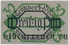 Тондорф-Лоэ (Tonndorf-Lohe), 30 пфеннингов 1921 года
