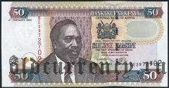 Кения, 50 шиллингов 2004 года