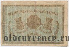 Франция, Bayonne, 50 сантимов 1915 года