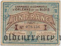 Франция, Orleans, 1 франк 1920 года