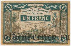 Франция, Fecamp, 1 франк 1920 года