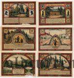 Ильменау (Illmenau), 6 нотгельдов 1921 года