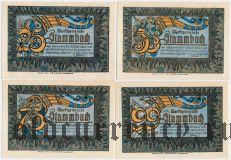 Штаммбах (Stammbach), 4 нотгельда 1921 года