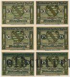 Ауэрбах (Auerbach), 6 нотгельдов 1921 года
