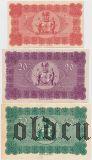 Ремшайд (Remscheid), 5, 20 и 50 марок 1918 года