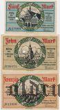 Гисен (Gießen), 5, 10 и 20 марок 1918 года