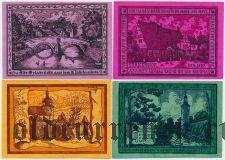 Оппург (Oppurg), 4 нотгельда 1921 года