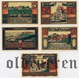 Кронах (Kronach), 5 нотгельдов 1921 года