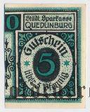 Кведлинбург (Quedlinburg), 5 пфеннингов