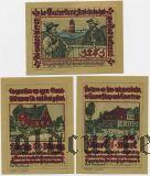 Прис-Фридрихсорт (Pries-Friedrichsort), 3 нотгельда 1922 года