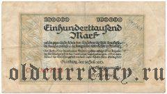 Дуйсбург (Duisburg), 100.000 марок 1923 года