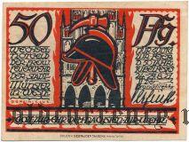 Мюнстер (Münster), 50 пфеннингов 1921 года