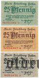 Фридберг (Friedberg), 3 нотгельда 1920 года