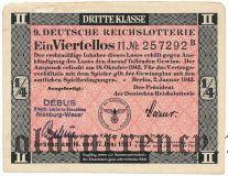 Германия, лотерея, Июнь 1943 года
