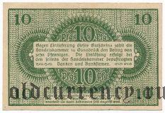 Оснабрюк (Osnabrück), 10 пфеннингов 1921 года
