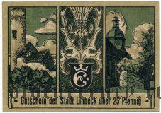 Айнбек (Einbeck), 25 пфеннингов 1920 года