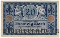 Германия, 20 марок 1915 года