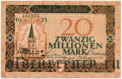 Киль (Kiel), 20 марок 1923 года